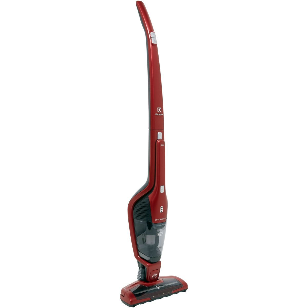 Electrolux ErgoRapido EER7ANIMAL - Aspirateur balai cyclonique - 45 min - 16,8 V