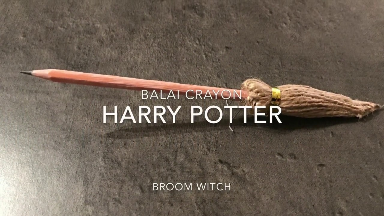 Balai / Crayon Harry Potter, Broom Witch