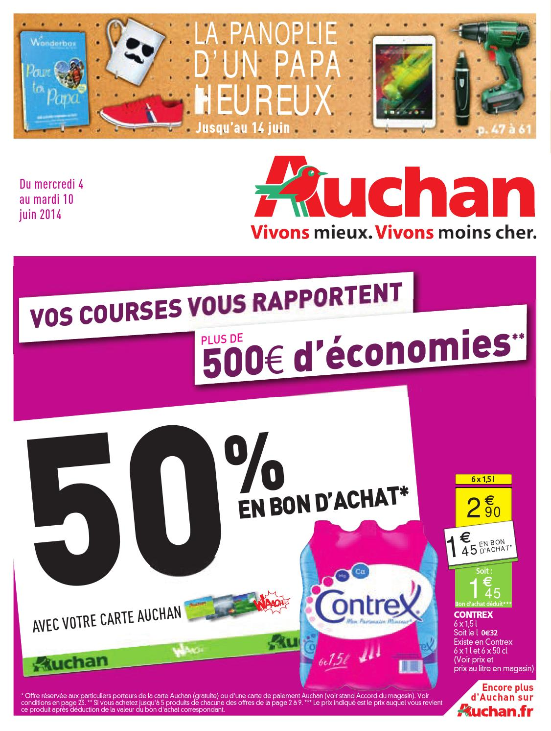 Auchan catalogue 4 10juin2014 by PromoCatalogues.com - issuu