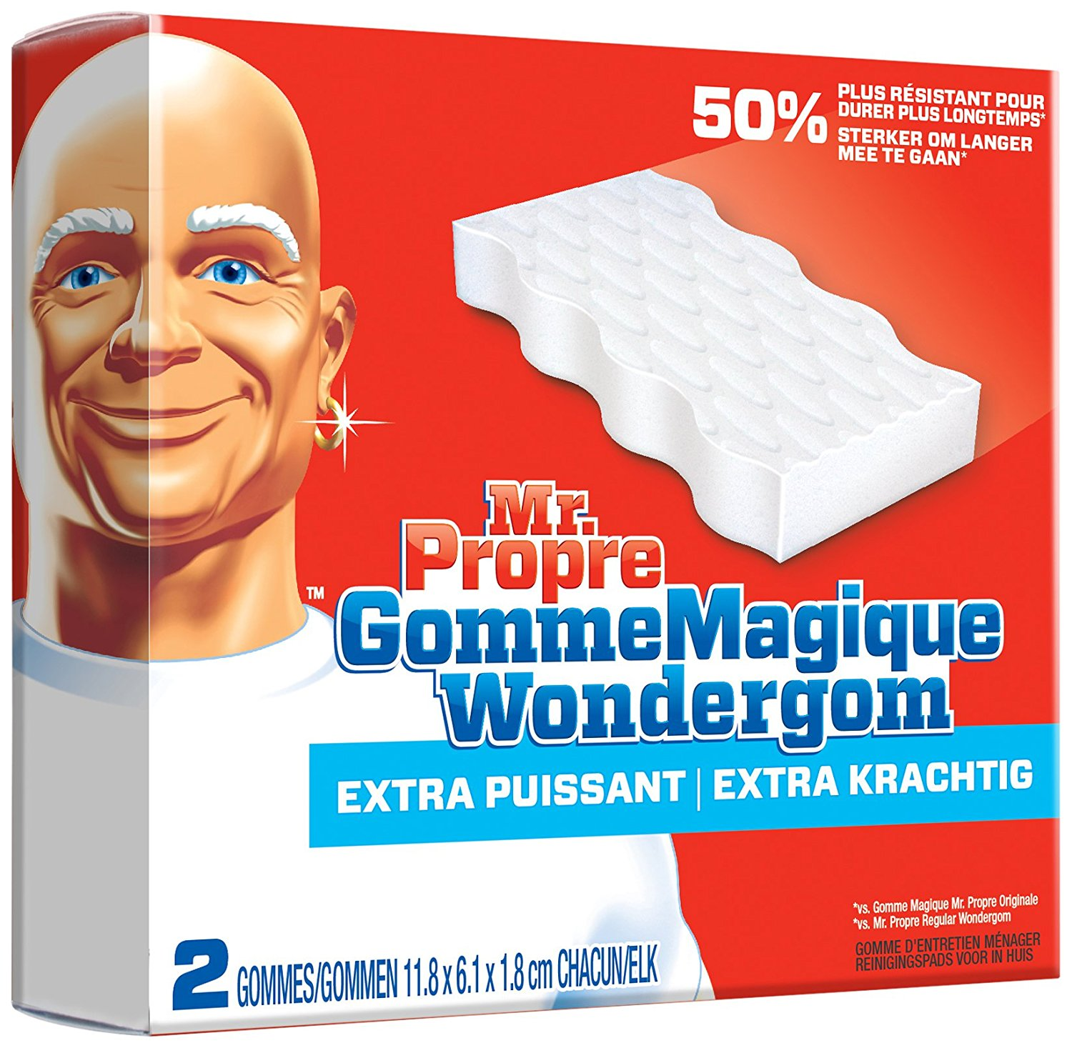 gomme mr propre - Cookeo Mania