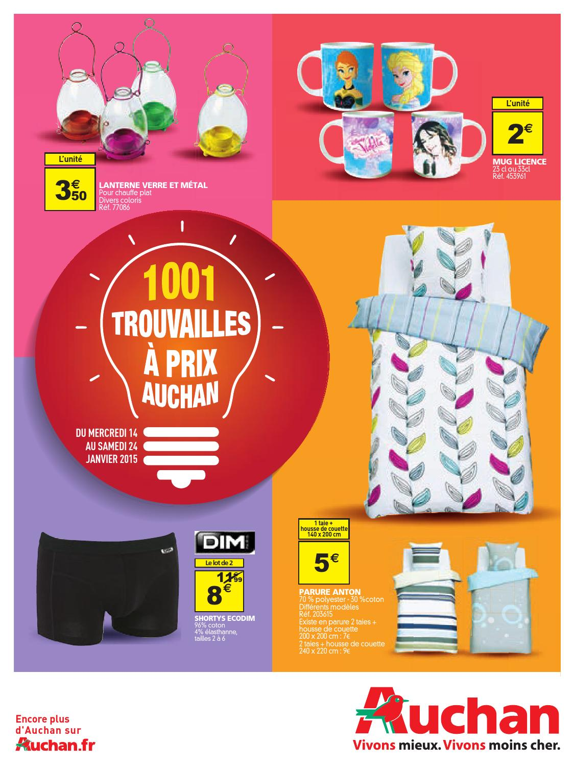 Auchan catalogue 14 24janvier2014 by PromoCatalogues.com - issuu