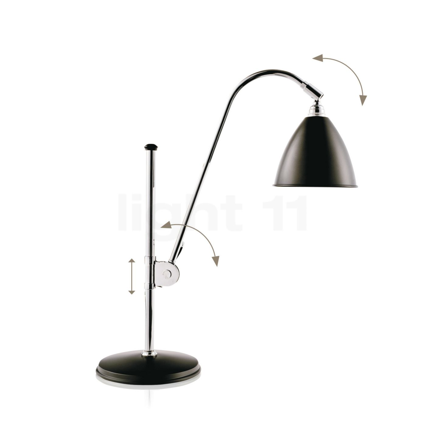 Chrome Bestlite Lampe De Bl1 Table Bureau 2YE9bWDeHI