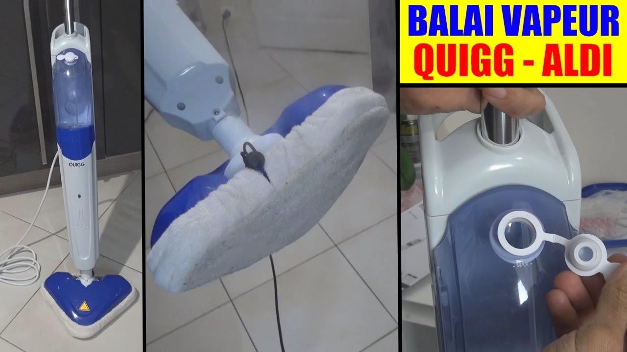 balai vapeur aldi quigg presentation test steam cleaner ...