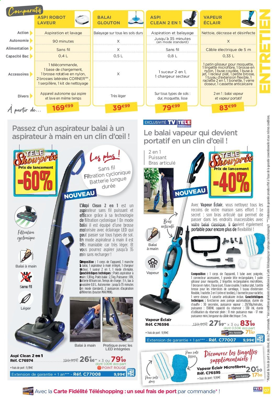 Catalogue, prospectus, pub Téléshopping 01.06.2019 - 25.08 ...